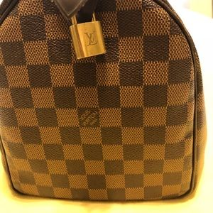 Authentic Louis Vuitton /Speedy 30 / Damier Ebene
